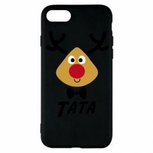 Etui na iPhone SE 2020 Tatuś jeleń