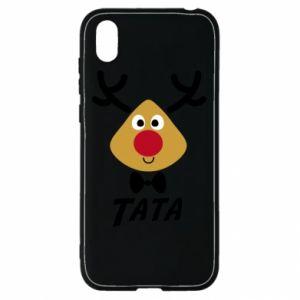 Etui na Huawei Y5 2019 Tatuś jeleń