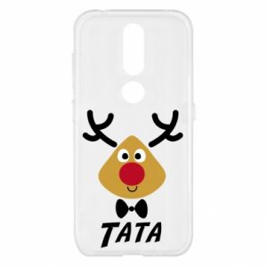 Etui na Nokia 4.2 Tatuś jeleń