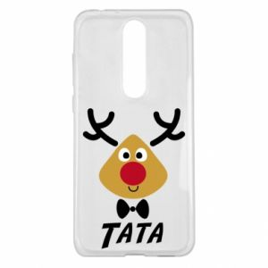 Etui na Nokia 5.1 Plus Tatuś jeleń