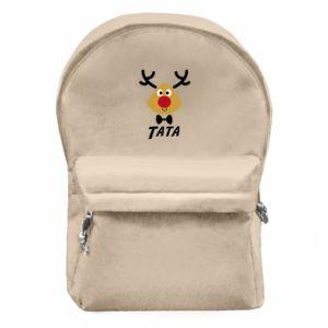 Plecak z przednią kieszenią Tatuś jeleń
