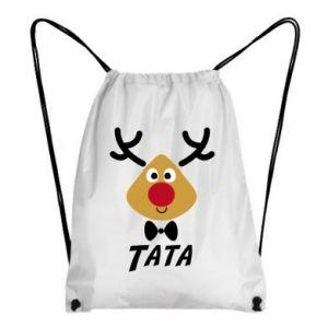 Plecak-worek Tatuś jeleń