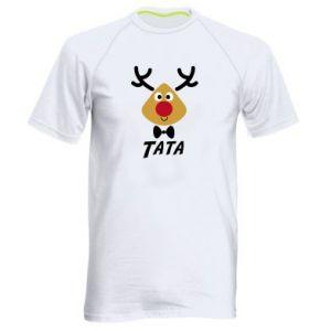 Koszulka sportowa męska Tatuś jeleń