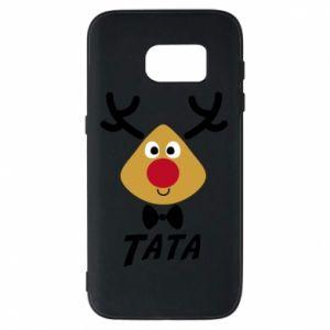 Etui na Samsung S7 Tatuś jeleń