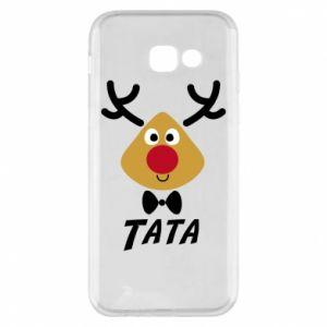 Etui na Samsung A5 2017 Tatuś jeleń