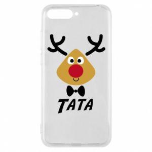 Etui na Huawei Y6 2018 Tatuś jeleń