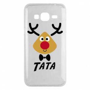 Etui na Samsung J3 2016 Tatuś jeleń