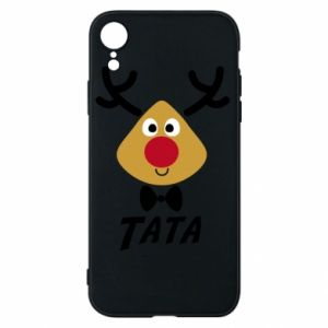 Etui na iPhone XR Tatuś jeleń