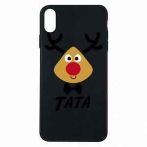 Etui na iPhone Xs Max Tatuś jeleń