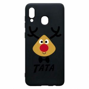 Etui na Samsung A30 Tatuś jeleń