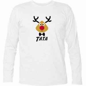 Koszulka z długim rękawem Tatuś jeleń