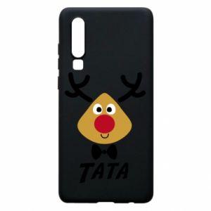 Etui na Huawei P30 Tatuś jeleń