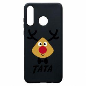 Etui na Huawei P30 Lite Tatuś jeleń