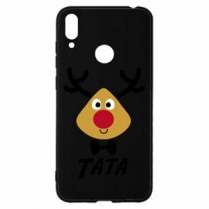 Etui na Huawei Y7 2019 Tatuś jeleń