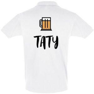 Men's Polo shirt Daddy and beer