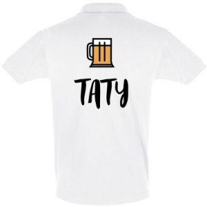Koszulka Polo Tata i piwo