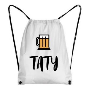 Backpack-bag Daddy and beer