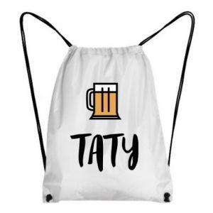 Plecak-worek Tata i piwo