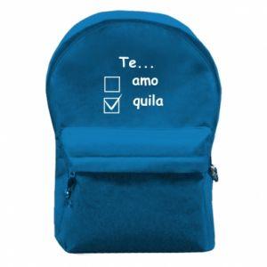 Plecak z przednią kieszenią Te...