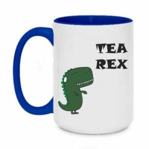 Kubek dwukolorowy 450ml Tea Rex