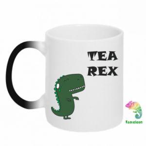 Kubek-kameleon Tea Rex