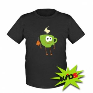 Kids T-shirt Tea smiles