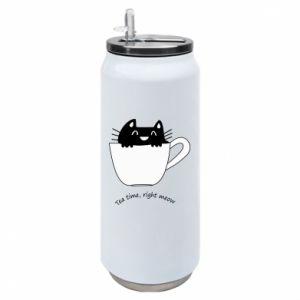 Puszka termiczna Tea time, right meow
