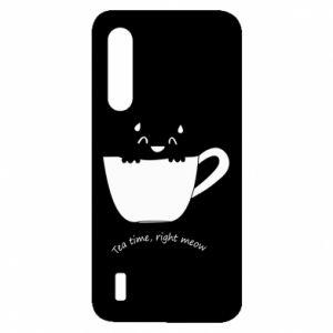 Etui na Xiaomi Mi9 Lite Tea time, right meow