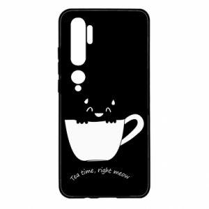 Etui na Xiaomi Mi Note 10 Tea time, right meow