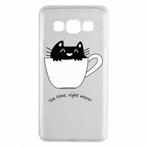 Etui na Samsung A3 2015 Tea time, right meow