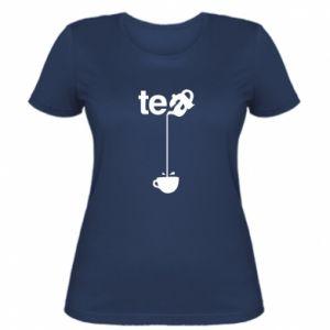Damska koszulka Tea - PrintSalon
