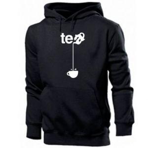 Męska bluza z kapturem Tea - PrintSalon