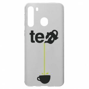 Samsung A21 Case Tea