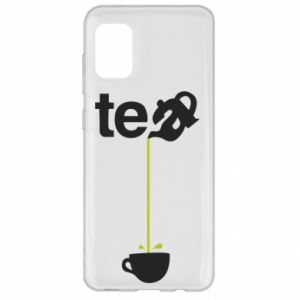 Samsung A31 Case Tea