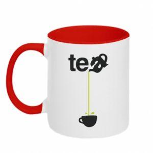 Kubek dwukolorowy Tea - PrintSalon