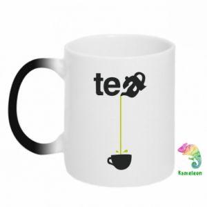 Kubek-kameleon Tea - PrintSalon