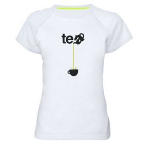 Women's sports t-shirt Tea