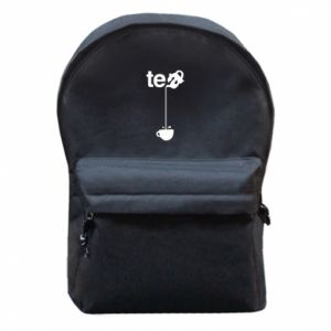 Backpack with front pocket Tea