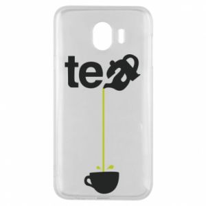 Samsung J4 Case Tea