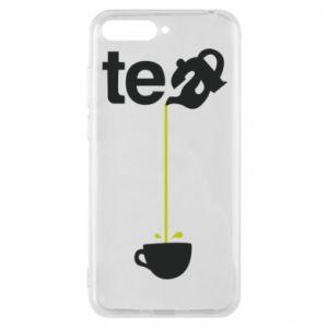 Etui na Huawei Y6 2018 Tea - PrintSalon