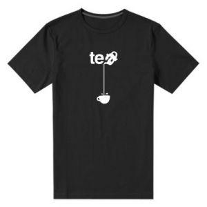 Męska premium koszulka Tea - PrintSalon