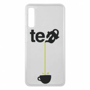 Etui na Samsung A7 2018 Tea - PrintSalon