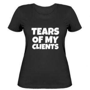 Koszulka damska Tears of my clients
