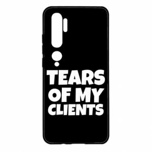 Etui na Xiaomi Mi Note 10 Tears of my clients
