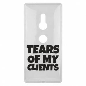 Etui na Sony Xperia XZ2 Tears of my clients