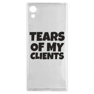 Etui na Sony Xperia XA1 Tears of my clients