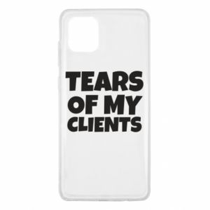 Etui na Samsung Note 10 Lite Tears of my clients