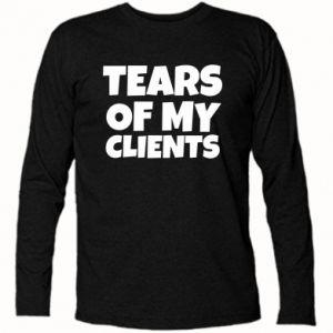 Koszulka z długim rękawem Tears of my clients
