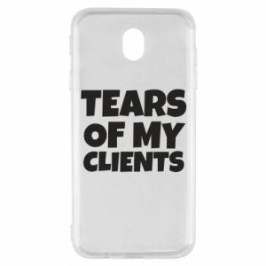 Etui na Samsung J7 2017 Tears of my clients
