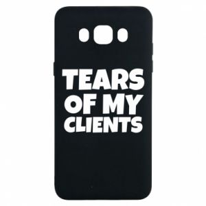 Etui na Samsung J7 2016 Tears of my clients